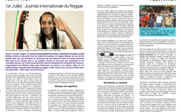 Journée internationale de reggae monticket #9